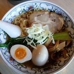 麺屋 我龍 - 鶏そば(1日限定20食)+味玉730円+90円