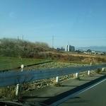 ニコニコ亭 - 遠くに榛名富士