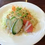 レストラン KING - 料理写真:ビーフシチューセット の サラダ