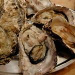 かき小屋フィーバー - 牡蠣のガンガン焼き 500g 1706.4円(消費税8%時)