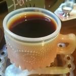 ブラウンモジョリズム - セットのコーヒー たっぷり、ウマイ!