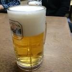 おかめ - 2015年12月 生ビール