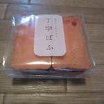 日本百貨店しょくひんかん - 丁字ぱふ(イチゴミルク)270円