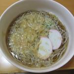 日本百貨店しょくひんかん - 比叡ゆばをお蕎麦にのせてみました!