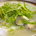 漁料理 やまね - 浅利(あさり)そば定食 500円