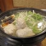 いかだ - 鶏団子鍋