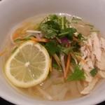 46090231 - シャッキリ野菜と蒸し鶏のフォー(レギュラーサイズ)