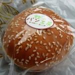 杜のパン工房 - 牛タン入りバーガー(青唐味噌)¥390円