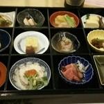 青山ガーデンリゾートホテルローザブランカ - 料理写真:夕食:季節の宝石箱