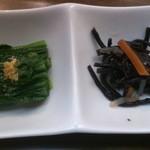 三陸 - 料理写真:お通し
