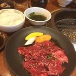 神田 炎蔵 - 29( •̀ᄇ• ́)ﻭ✧ はらみランチ@1020 ごはん、スープ、キムチ食べ放題!