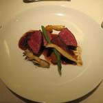 46093431 - 熟成肉のロースト 生姜とフォンドヴォーのソース