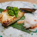 まめや - 焼き物(カジキマグロ柚庵焼き)