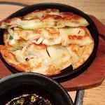 旬菜肉焼居酒屋ぼんた - 海鮮チヂミ