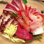 旬菜肉焼居酒屋ぼんた - お刺身6種盛り