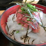 道の駅 オライはすぬま - マグロイカ丼
