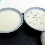 永和世紀豆漿大王  - 鹹豆漿と豆乳汁