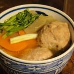 サレカマネ - 鶏団子豆腐