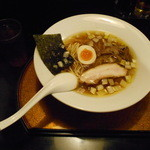 信濃神麺 烈士洵名 - らーめん 細麺