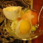アカシヤ - 小さめの玉子の半わりが印象的