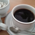 嵯峨野湯 - セットのコーヒー