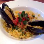 伊太利亜台所 - ムール貝のミラノ風リゾット