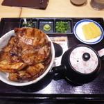 ぶたいち - 華 豚丼セット¥980