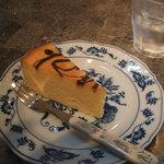 紙ひこうき - マーブルチーズケーキ
