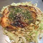 五エ門 - お好み「肉・玉子・野菜W」