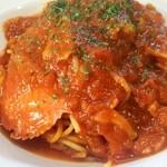 SANTA CAFE - 渡り蟹のトマトパスタ