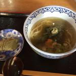 46103085 - 昆布うどん&柿の葉寿司
