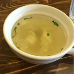 ポカラ - ランチセットのスープ