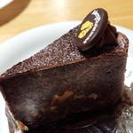 レッヒェルン洋菓子店 - 洋酒のチョコレートケーキ(370円、名前失念)