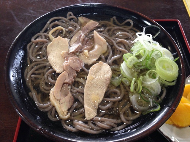 そば吉 - 肉そば ¥680