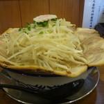 麺屋ばやし - 醤油花びらチャーシュー爆盛もやし増し増し1080円
