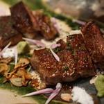 猿神 - 料理写真:和牛ステーキ