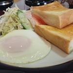 カフェド・リマリ - 料理写真:モーニングサービスのセット