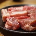 ジンギスカン ゆきだるま 本八幡部屋 - 料理写真:ジンギスカン