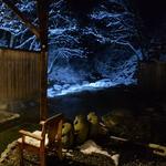 46109076 - 一番人気の川龍から見た雪景色・・・(・∀・)イイ!!