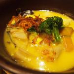 46109225 - 蓮根つくねの南瓜スープ仕立て1,190円                       蓮根つくねの南瓜スープ仕立て