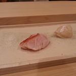 Sushiwatanabe - 金目鯛の炙り