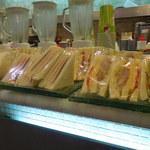 台北牛乳大王 - 平日モーニング用のサンドイッチ