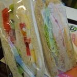 台北牛乳大王 - サンドイッチ