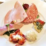 タントタントトラットリア - レディースランチ:前菜の盛り合わせ