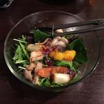 とり・チキン・FUZI - サラダ
