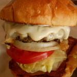 46114267 - 2016/1 1月のマンスリーバーガーは、餅チーズバーガー!!