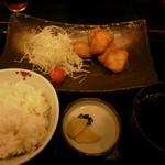 46115666 - 鶏カツ定食350円(税込)