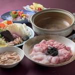 風和 - 料理写真:あんこうどぶ汁を含む 翠(すい)会席