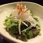 博多もつ鍋 福ヤ - サラダ