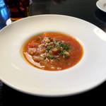 ワイン食堂 SABATORA - ランチメニューより「本日のスープ」